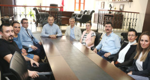 Adalet Komisyonu Başkanı'ndan Veda Ziyareti