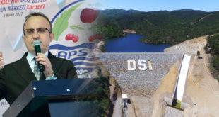 Balcılar Barajı ve Sulama Sistemi Hazır