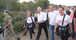 Kılıçdaroğlu'ndan 57. Alay Saygı Yürüyüşü
