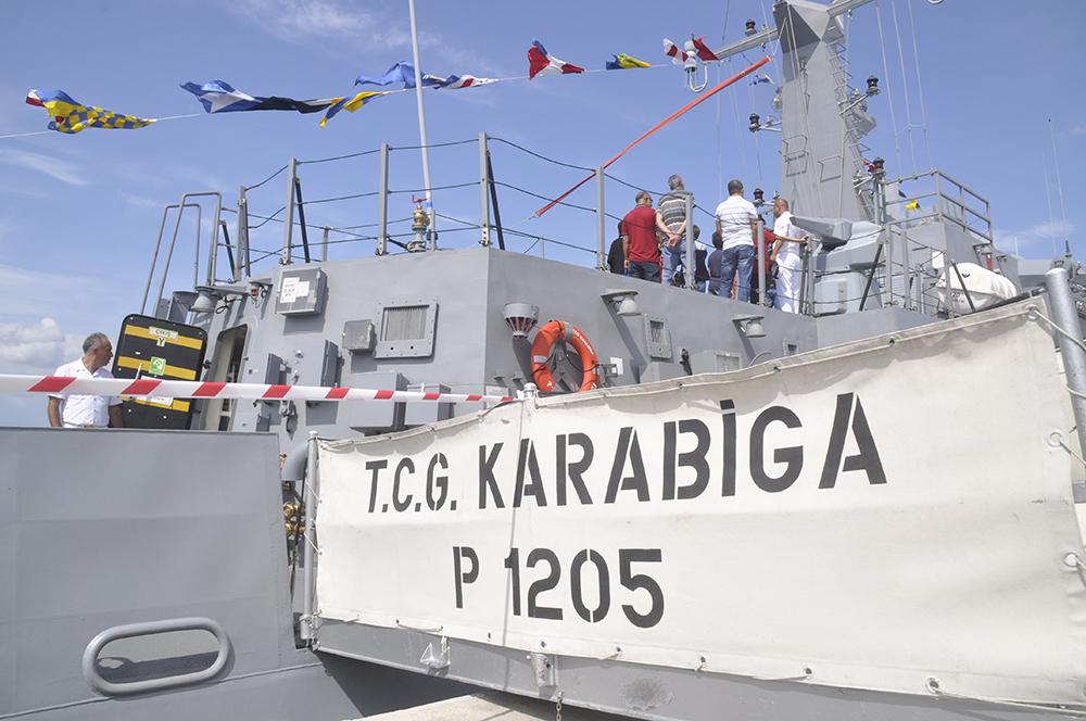 Savaş Gemisi Ziyarete Açıldı çanakkale Gündem