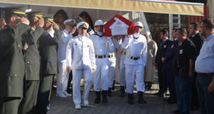 Kıbrıs Gazi Özdirek'e son görev