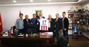 Başkan Işık'a Adaspor'dan ziyaret