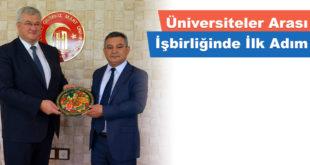 Üniversiteler Arası İşbirliğinde İlk Adım