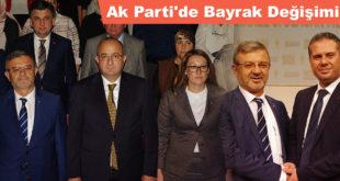 Ak Parti'de Bayrak Değişimi