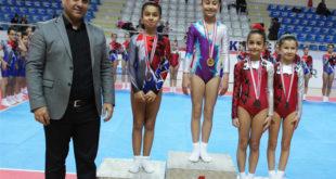 Aerobik ve jimnastik Müsabakaları Sona Erdi