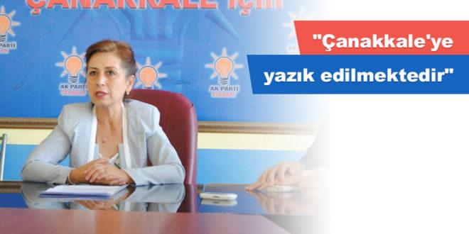 """""""Çanakkale'ye yazık edilmektedir"""""""