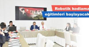 Robotik kodlama eğitimleri başlayacak