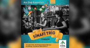 Kaz Dağı Konserleri'nde Sinafi Trio