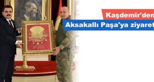 Kaşdemir'den Aksakallı Paşa'ya ziyaret