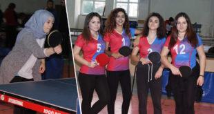 Okul Sporları Masa Tenisi Karşılaşmaları Başladı