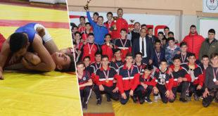 Çanakkale Okul sporları Gençler Güreş İl Birinciliği Sona Erdi