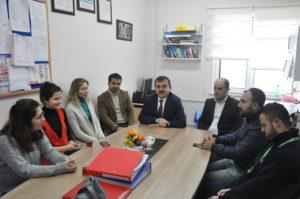 Müdür Özkan'dan okul ziyareti