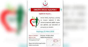 Çanakkale Obezite Okulu açılıyor