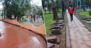 Halk Bahçesi yenileniyor