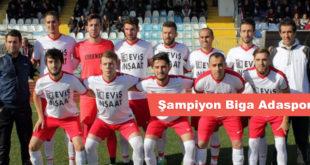 Şampiyon Biga Adaspor