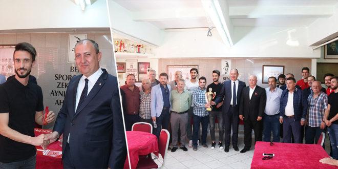 Başkan Işık'tan Şampiyona Jest