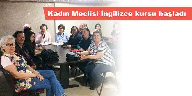 Kadın Meclisi İngilizce kursu başladı