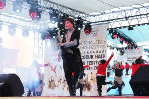 Çanakkale dansa doydu