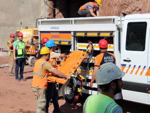 AFAD'tan tünel çalışanlarına eğitim