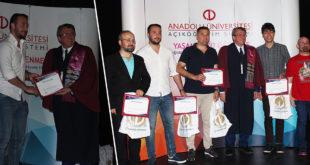 Anadolu Üniversitelilere ÇOMÜ'de Başarı Belgesi