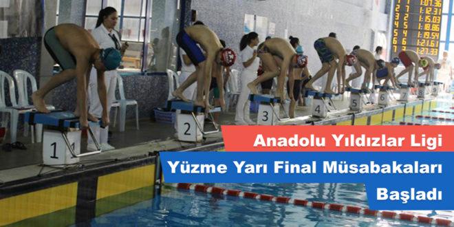 Anadolu Yıldızlar Ligi Yüzme Yarı Final Müsabakaları Başladı