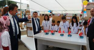 Özkan'dan Biga'daki Okullara Ziyaret