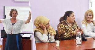 Göçmen kadınlara belediye desteği