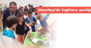 Umurbey'de İngilizce şenliği