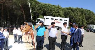 Vali Tavlı'dan Jandarma Karakoluna Ziyaret