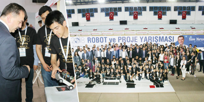 Robot yarışması ödülleri sahiplerini buldu