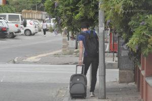 Öğrenciler şehirden gidiyor