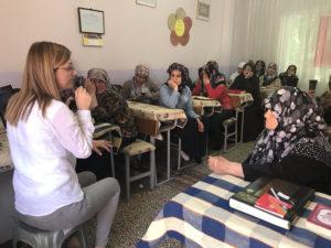 Gelibolu'da KADEM eğitimi