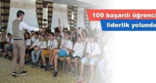 100 başarılı öğrenci liderlik yolunda