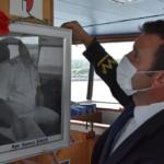 Çanakkale kaptanını son yolculuğuna uğurladı