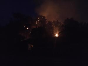 Barajda yangın